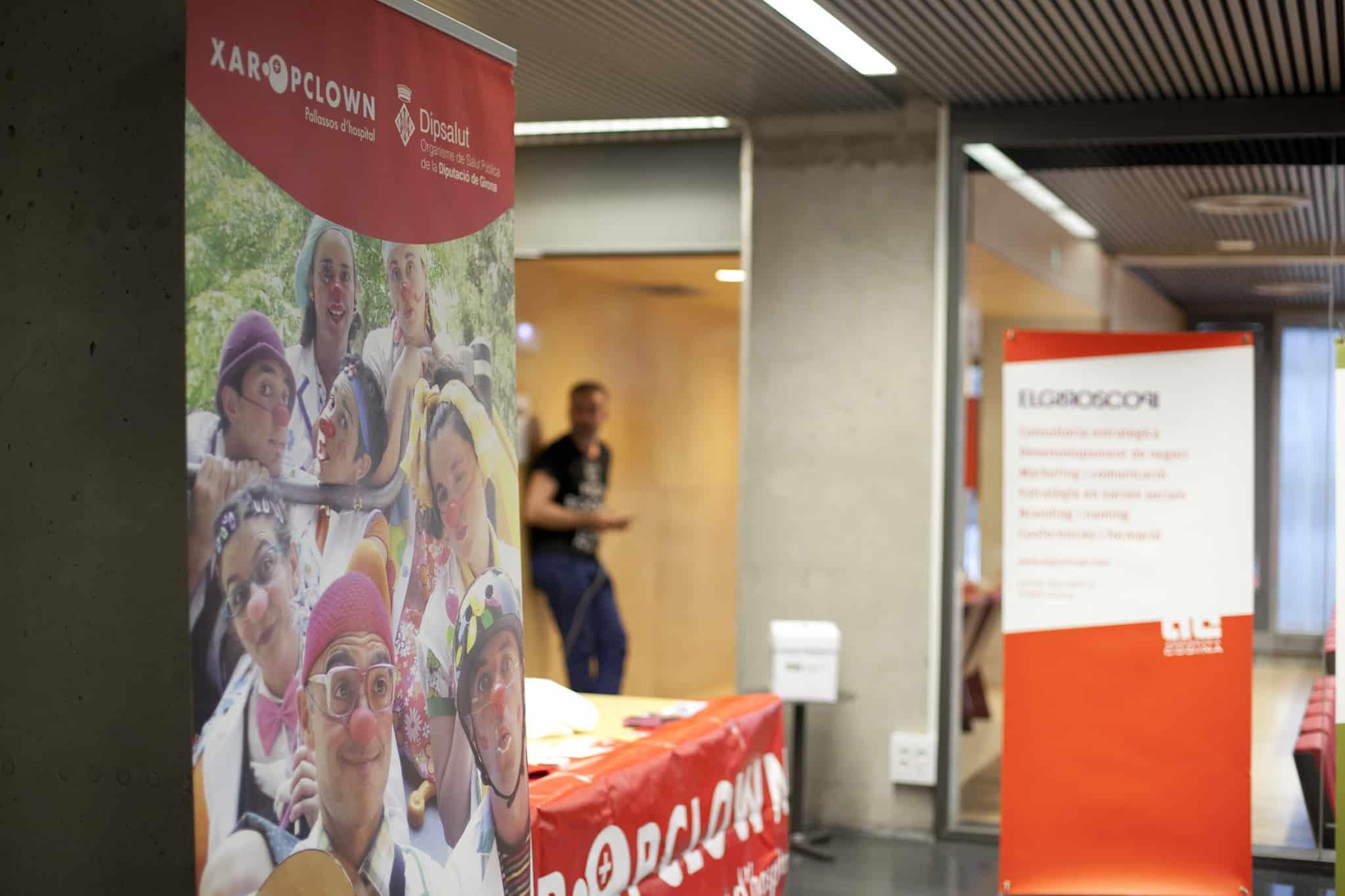 XaropClown en la 5a Mostra d'Emprenedors de Girona