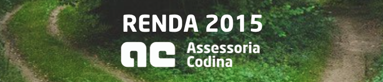 Renda 2015 - Girona - Assessor - Gestor - Assessoria - Codina - Asesor - Asessors